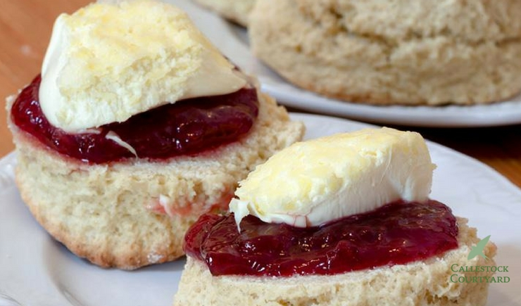 Liz's Cornish cream tea recipe