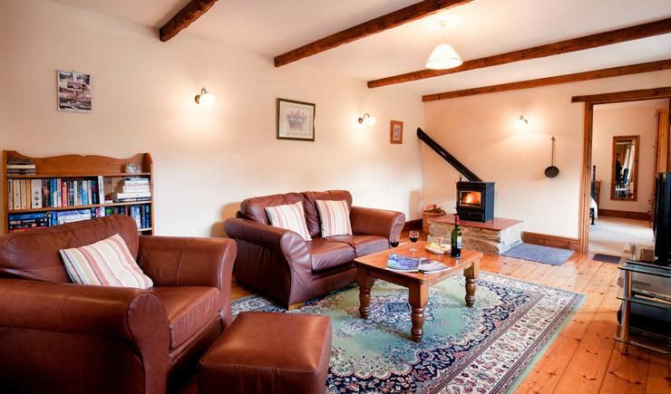 Wheal Hope Living Room