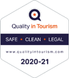 Quality in Tourism Safe Clean Legal Award