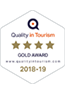 Quality in Tourism 4 Star Gold